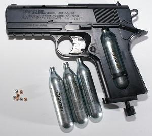 Pistolet à gaz airsoft